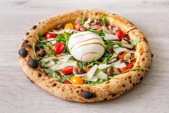 pizza à la vente