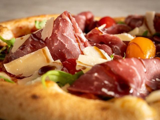 Pizza jambon de parme